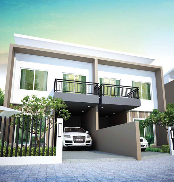 Baan Salil Baan Salil Twin House Plans And Specs Baan