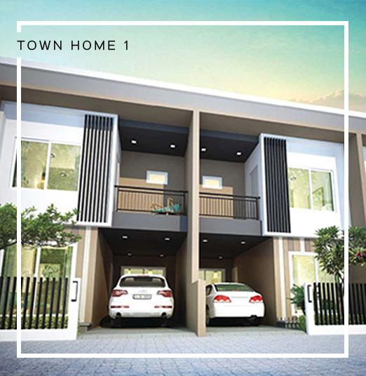 Baan Salil - Town Home 1 Exterior Design