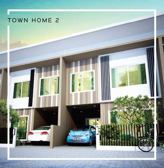 Baan Salil - Town Home 2 Exterior Design
