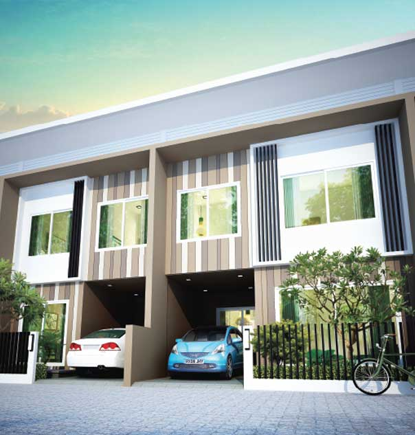 Baan Salil - Town Home 2 Exterior View